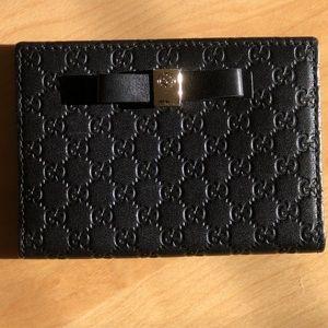Gucci Compact Guccisima Print Wallet